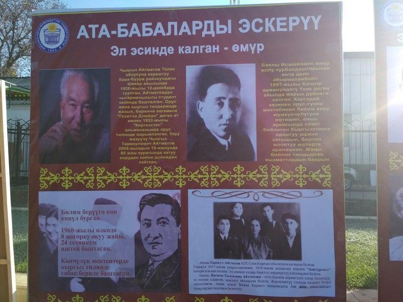 ЭЛ КАЙМАКТАРЫН ЖАЛМАГАН – РЕПРЕЦИЯ