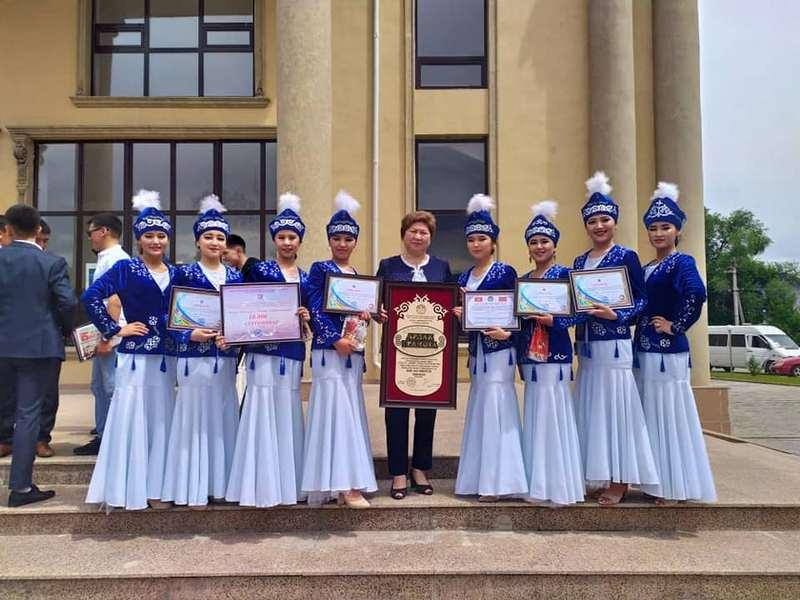"""The students' knowledge, to Kyrgyzstan"""